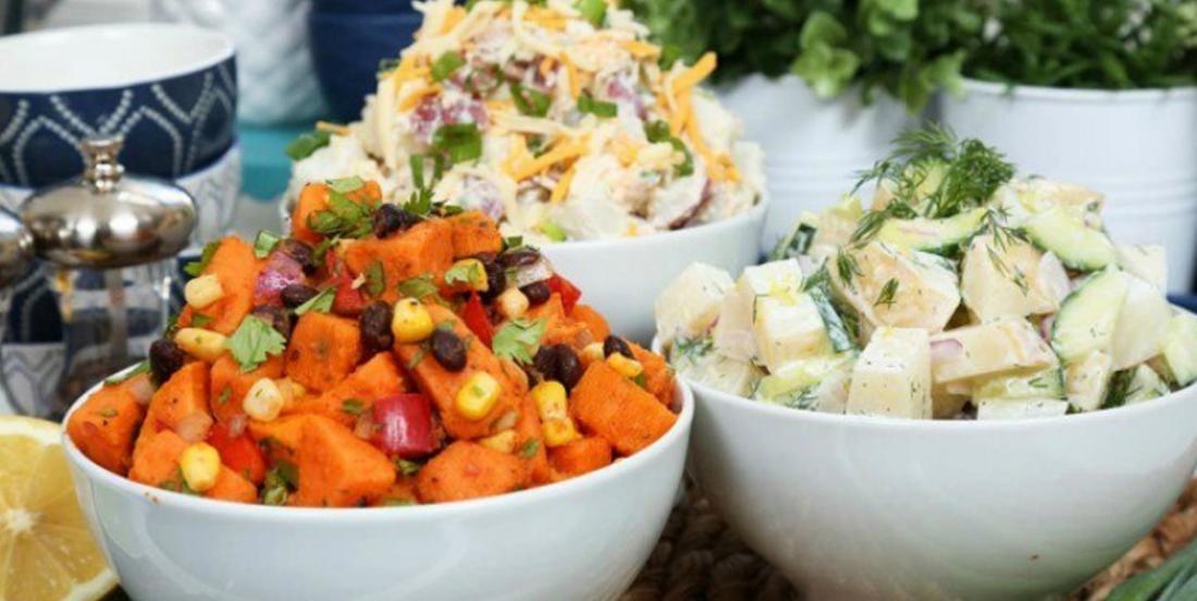 3 recettes de salades de pommes de terre sans mayonnaise