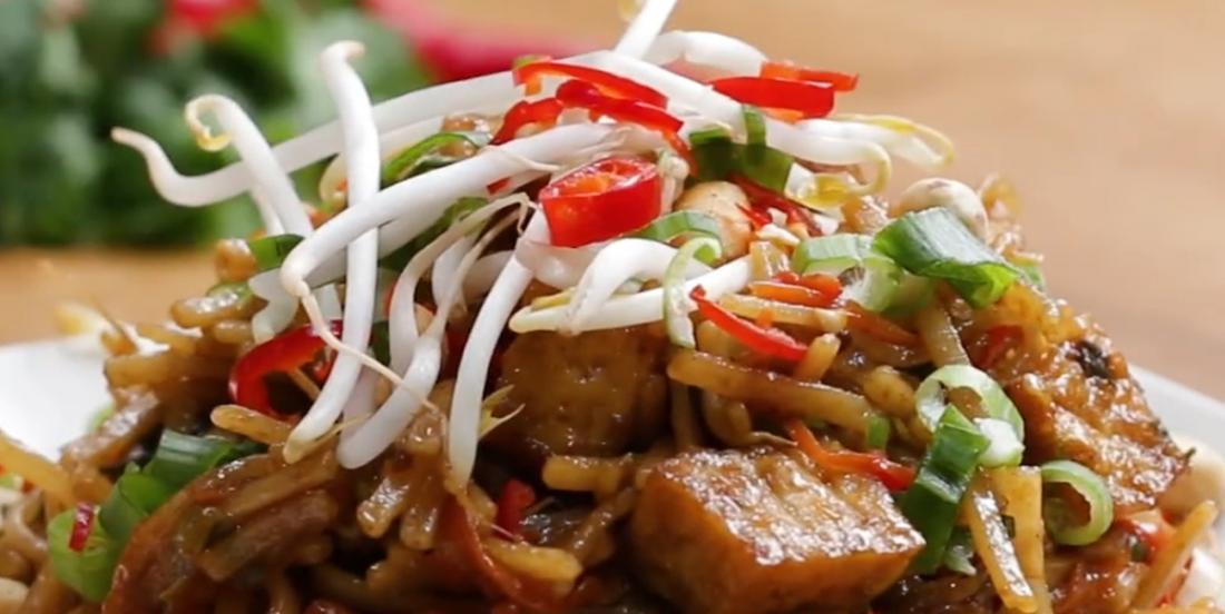 Pad thaï végétarien