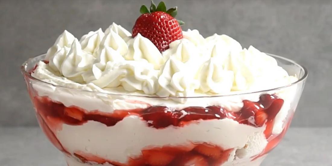 La meilleure recette de bagatelle aux fraises