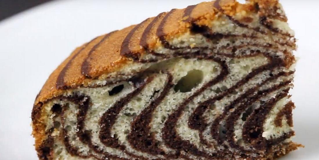 La méthode infaillible pour confectionner un gâteau zébré