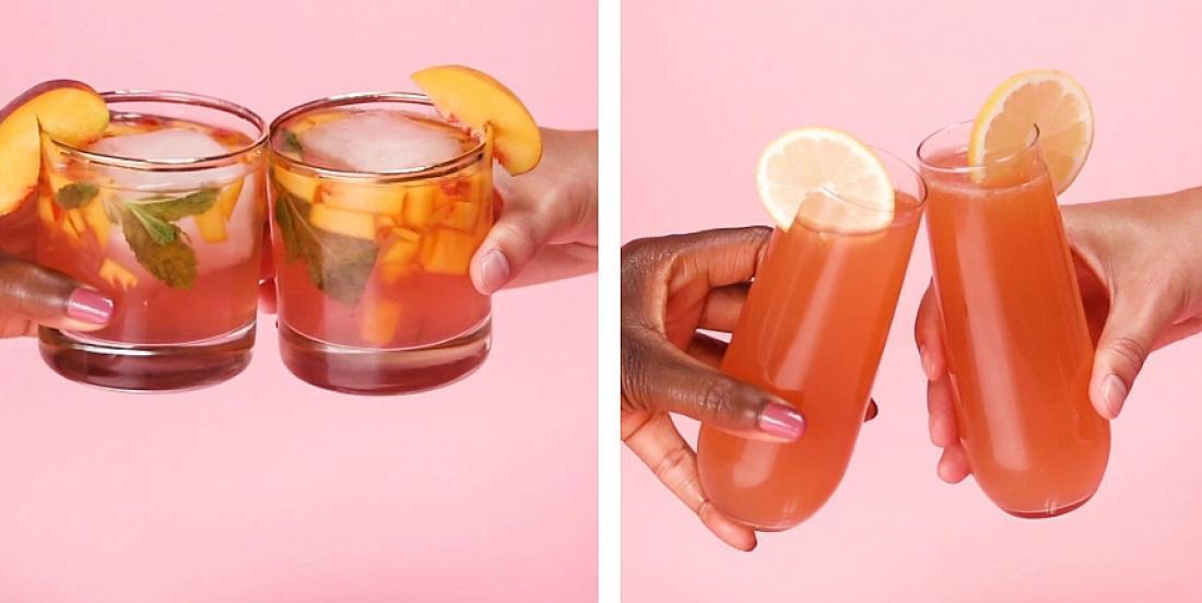 4 cocktails d'été au vin rosé