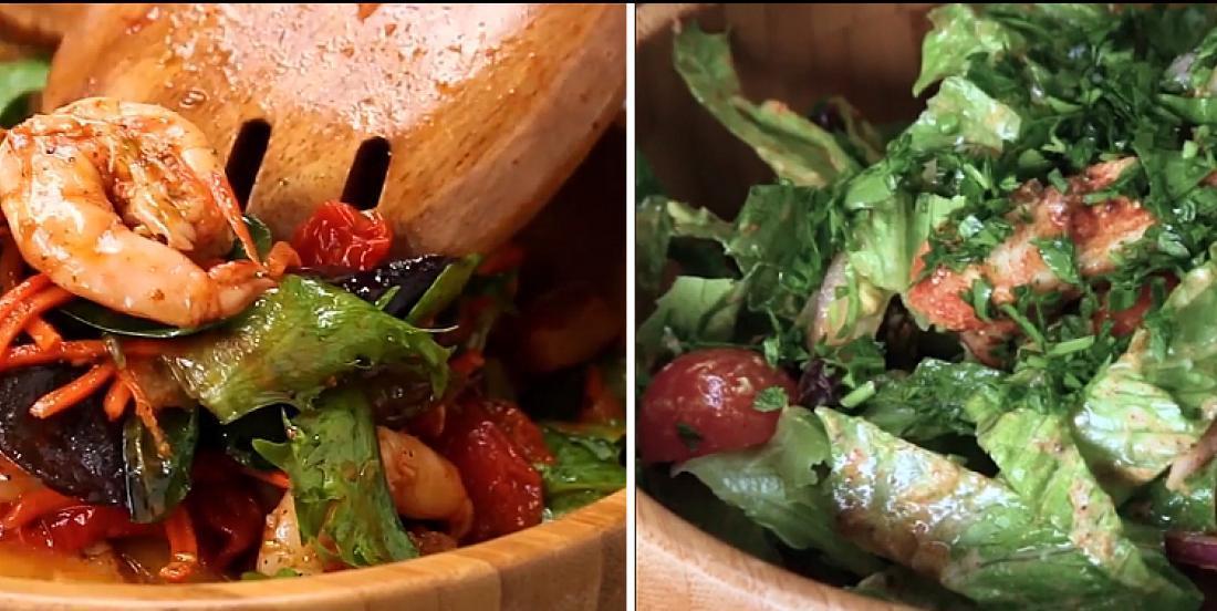 4 salades-repas hautement protéinées