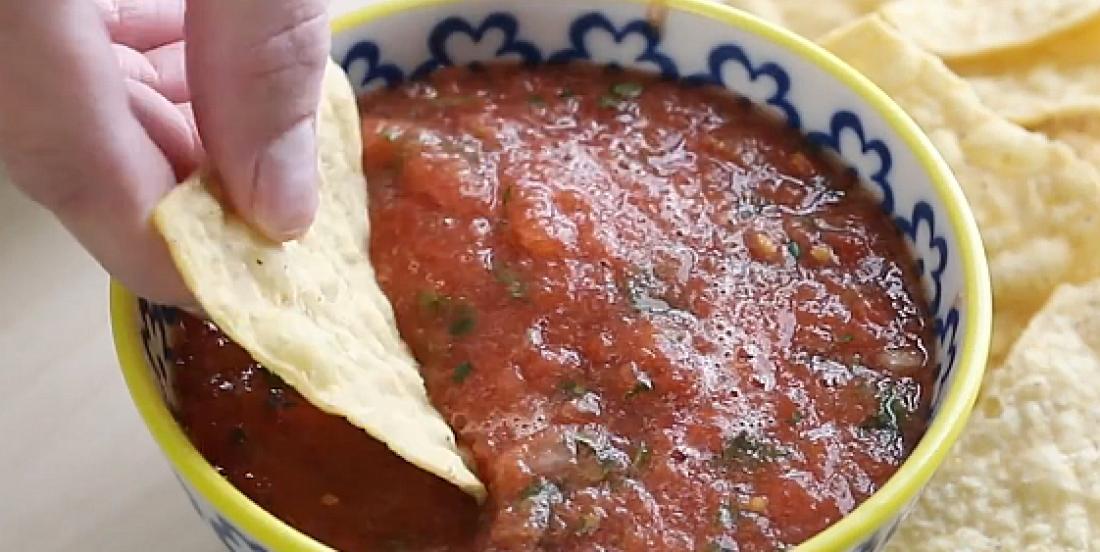 Délicieuse salsa maison prête en 5 minutes