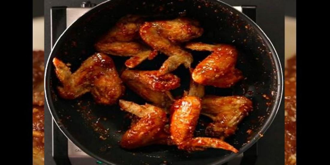 Ailes de poulet piquantes à la coréenne