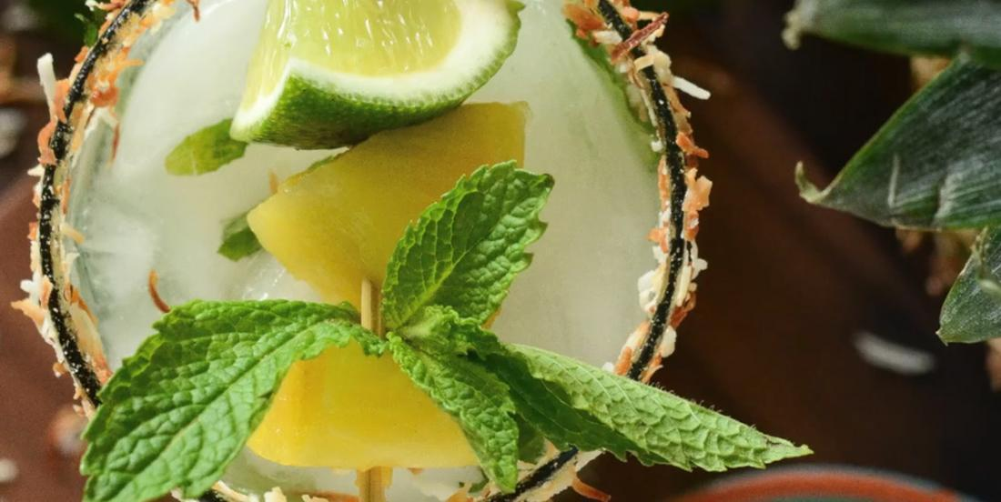 Mojito ananas et noix de coco