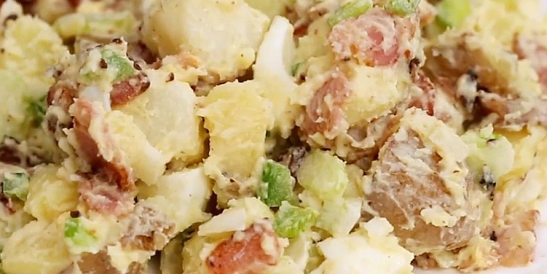 L'irrésistible salade aux patates de nos grands-mères