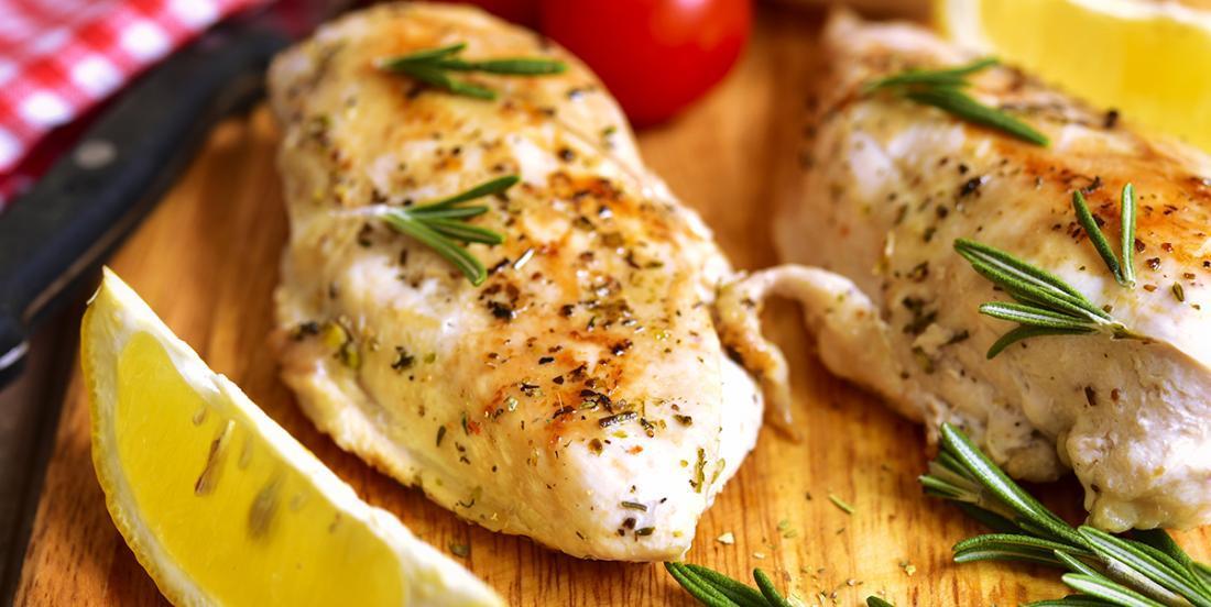Poitrines de poulet éclair