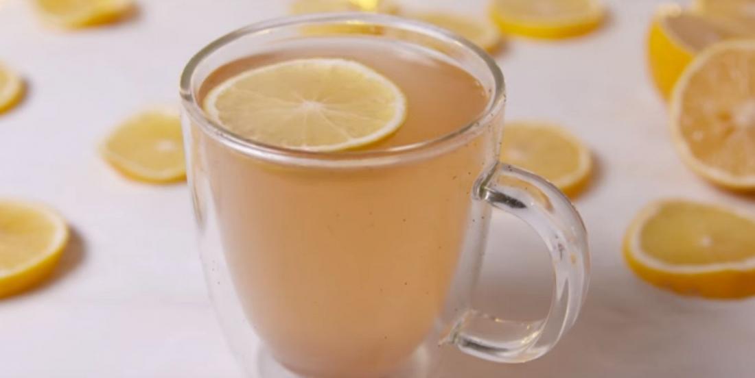 Combattez les excès des fêtes avec cette limonade chaude et épicée