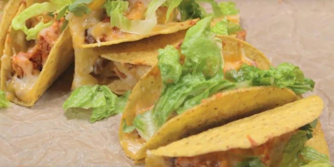 Tacos au poulet pour épicer vos soirées cet hiver