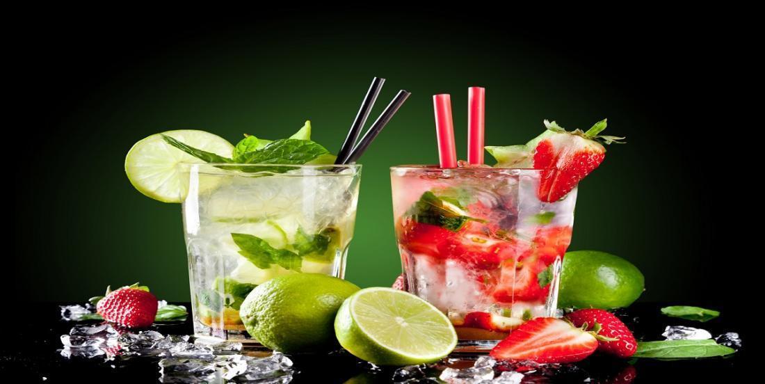 Soulignez le temps des fêtes avec ces délicieux «virgin mojitos» à la fraise