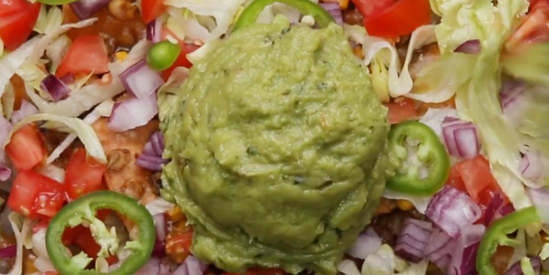 Ces nachos végétariens sont remplis de bonnes choses!