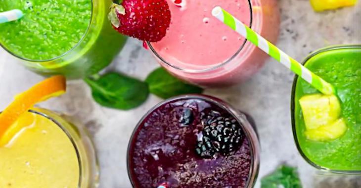 5 délicieux smoothies santé pour bien commencer l'année