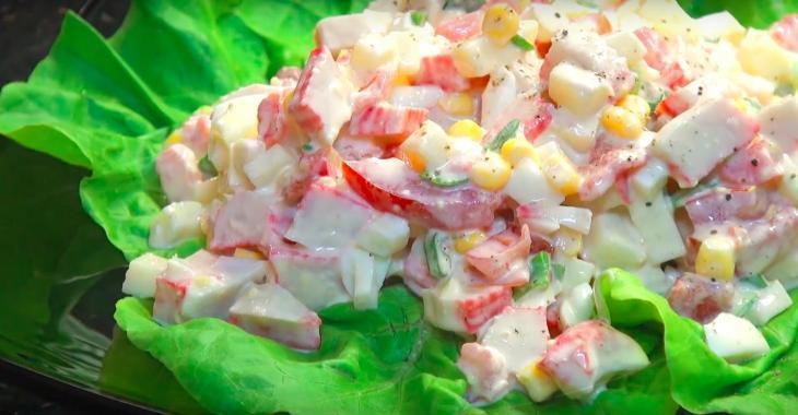 Salade de goberge prête en seulement 10 minutes