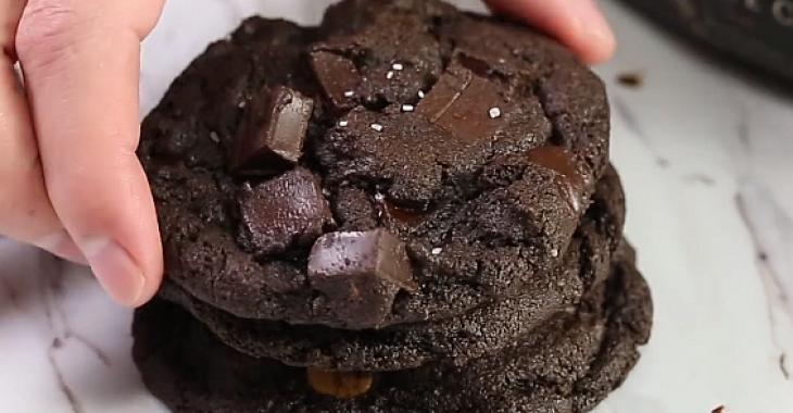 Biscuits ultra chocolatés 4-en-1