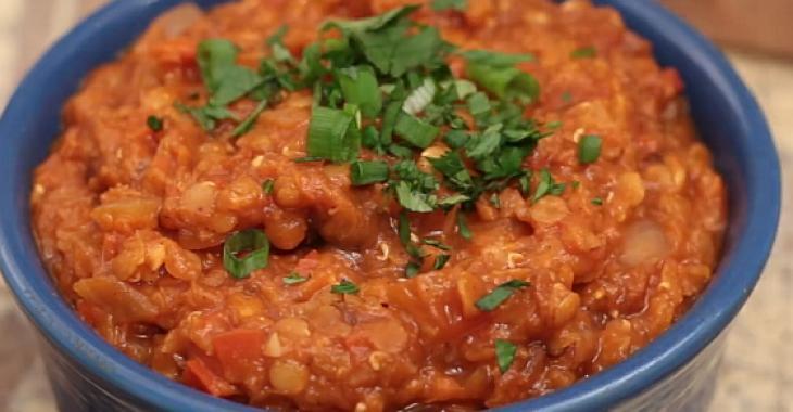 Chili végétarien aux lentilles rouges à la mijoteuse
