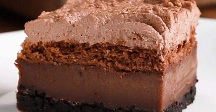 Gâteau au chocolat 4-en-1