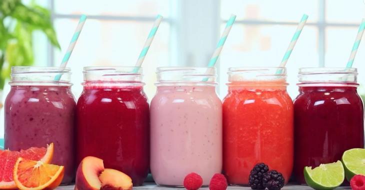 5 recettes saines et nutritives de smoothies