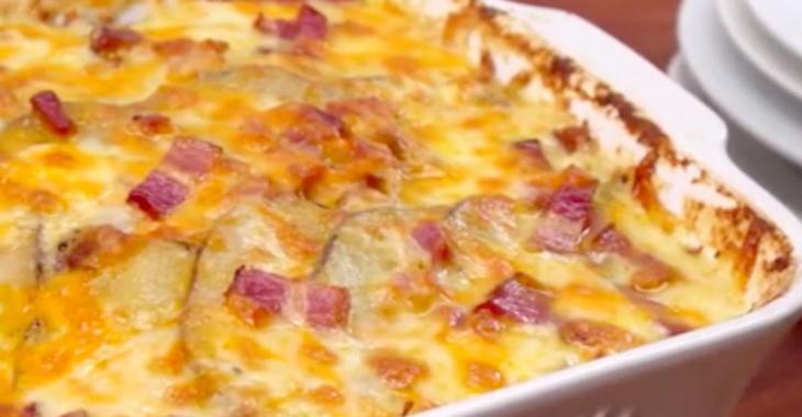 Casserole de pommes de terre réconfortante